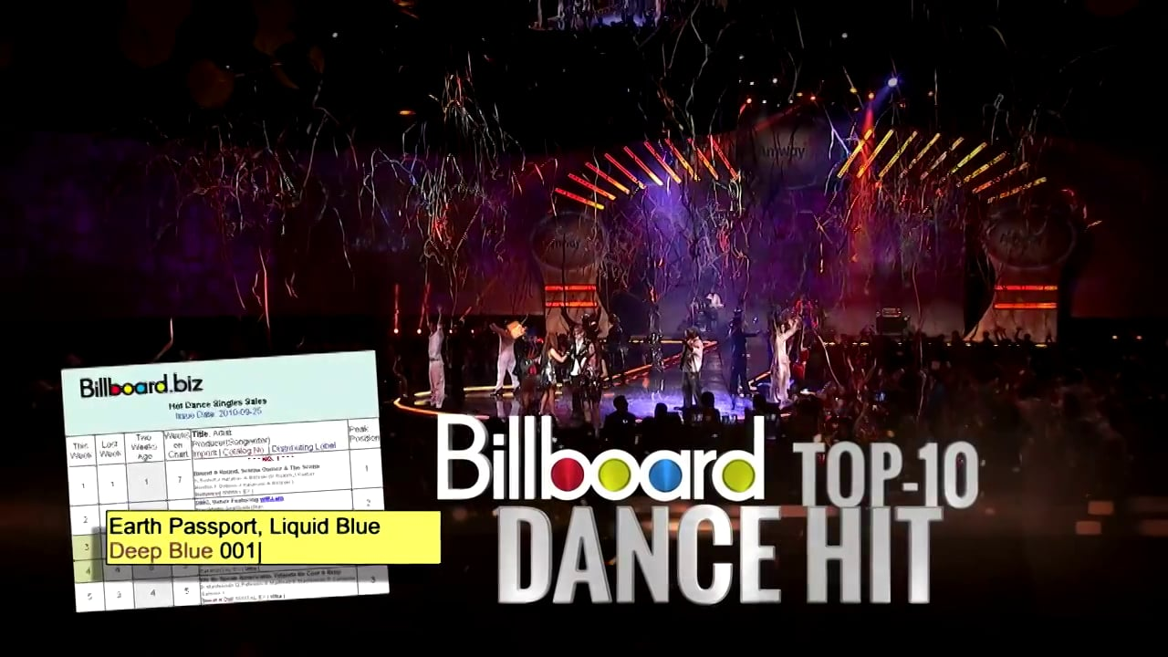 Liquid Blue Billboard Hit Earth Passport