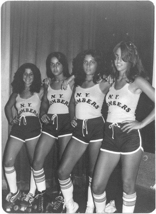 Bomber Girls Lori, Jodi, Cheryl, Meca - Electric Warrior band