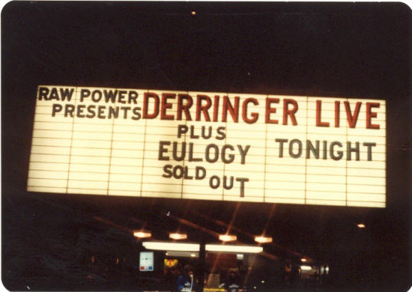 Derringer Concert - Raw Power Magazine