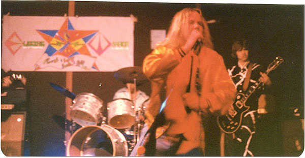 Original EW Banner 1977 - Electric Warrior band