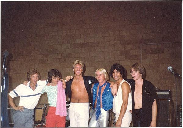 1980 at South Pasadena High - Electric Warrior band