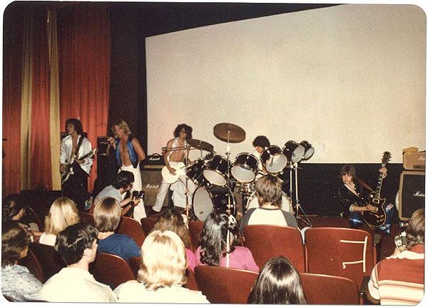 Baronet: Hand, Stephens, Stoekli, Sklar, Vangerov - Electric Warrior band