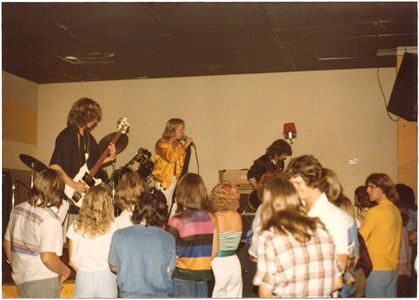 Opening for Quiet Riot 79 - Electric Warrior band