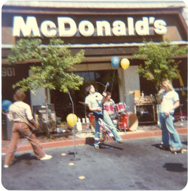 1st Gig at McDonalds 1978 - Electric Warrior band