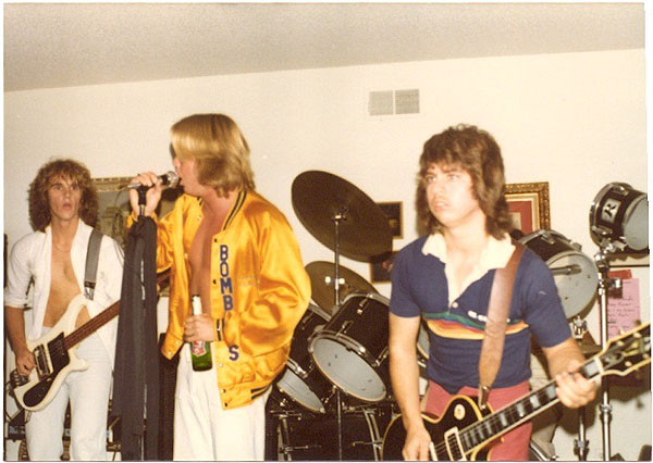 Stephens, Vangerov 1979 - Electric Warrior band