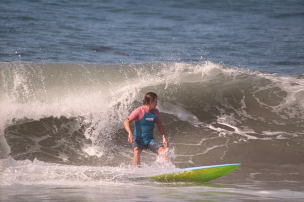 Scott Cutting Back - Scott Stephens Surfing