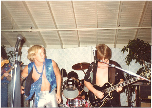 Stephens & Mogill 1980 - Electric Warrior band