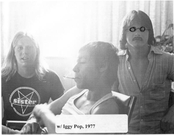 Iggy Pop with Scott Stephens 1977 - Raw Power Magazine