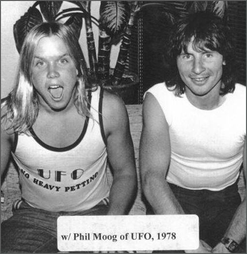 Phil Moog of UFO with Scott Stephens - Raw Power Magazine