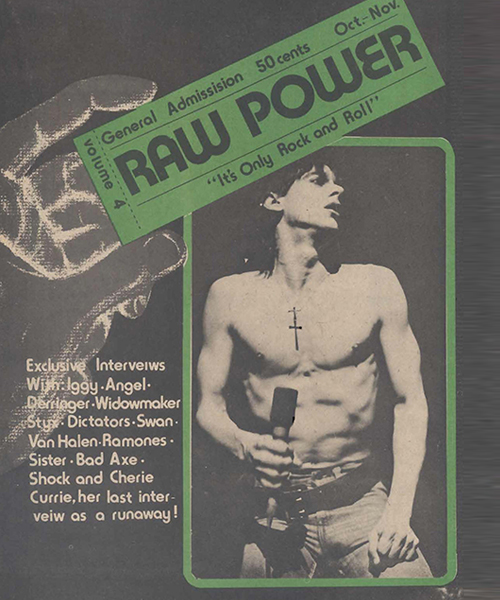 Raw Power Magazine - Issue No. 4
