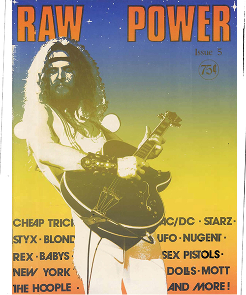 Raw Power Magazine - Issue No. 5