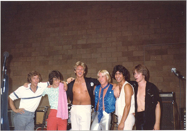 1980 at South Pasadena High - Electric Warrior band