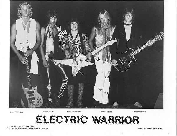 70's Electric Warrior band - Electric Warrior band