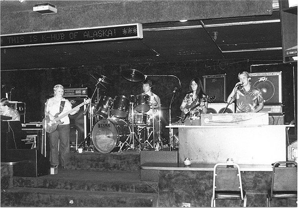 Pacesetters Live 1984 - Pacesetters Band Anchorage