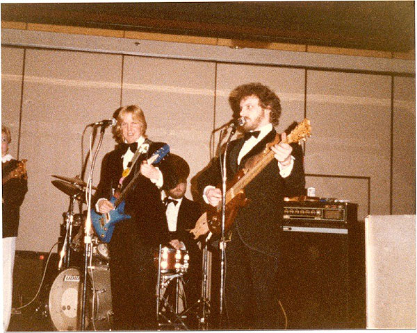 Pacesetters at Mayors Ball 1983 - Pacesetters Band Anchorage