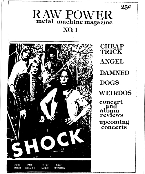 Raw Power Magazine - Issue No. 1