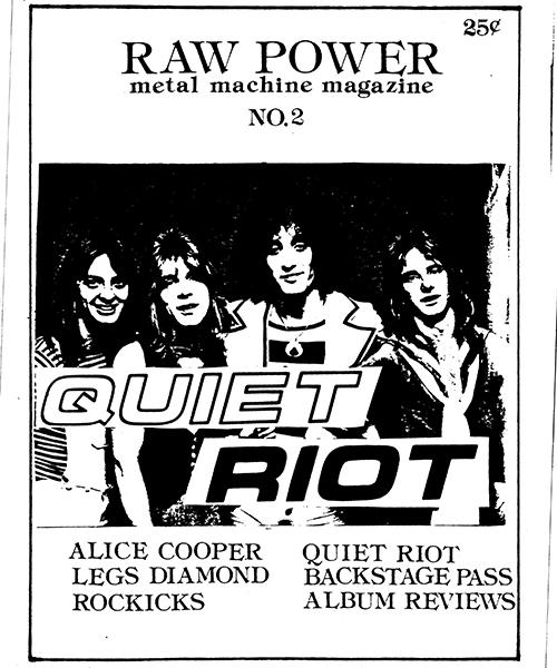 Raw Power Magazine - Issue No. 2
